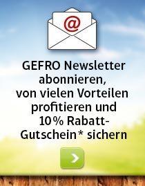 GEFRO Newsletter Abo