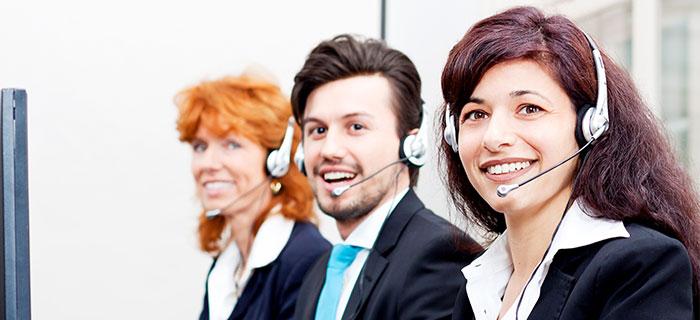 Callcanter Mitarbeiter
