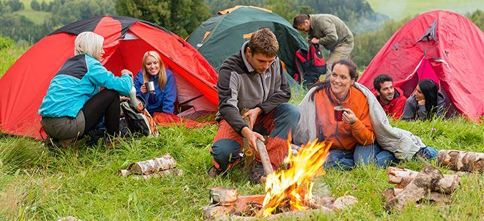 GEFRO Camping Szene Rezepte