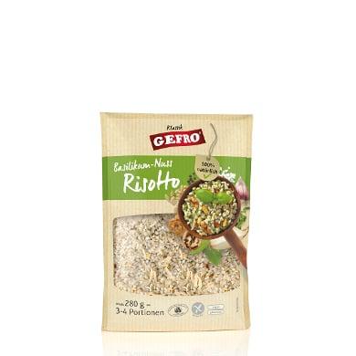 GEFRO Basilikum-Nuss-Risotto