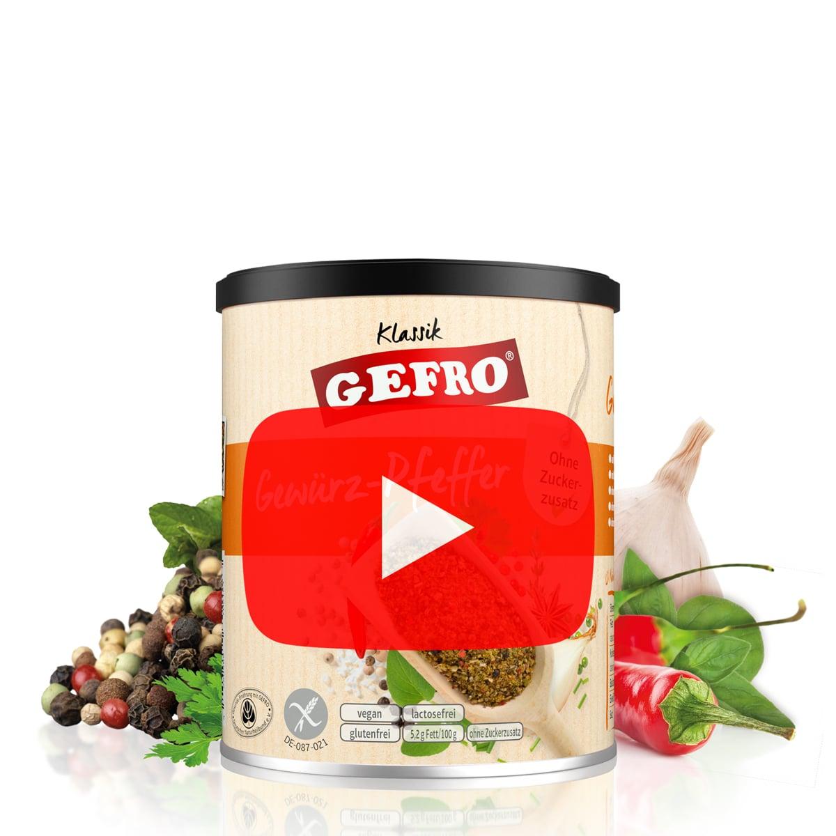 Pfeffer Online Kaufen Pfeffer Gewürz Gefro