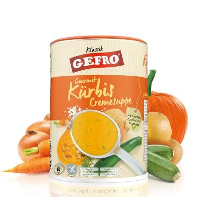 GEFRO Gourmet Kürbis Cremesuppe