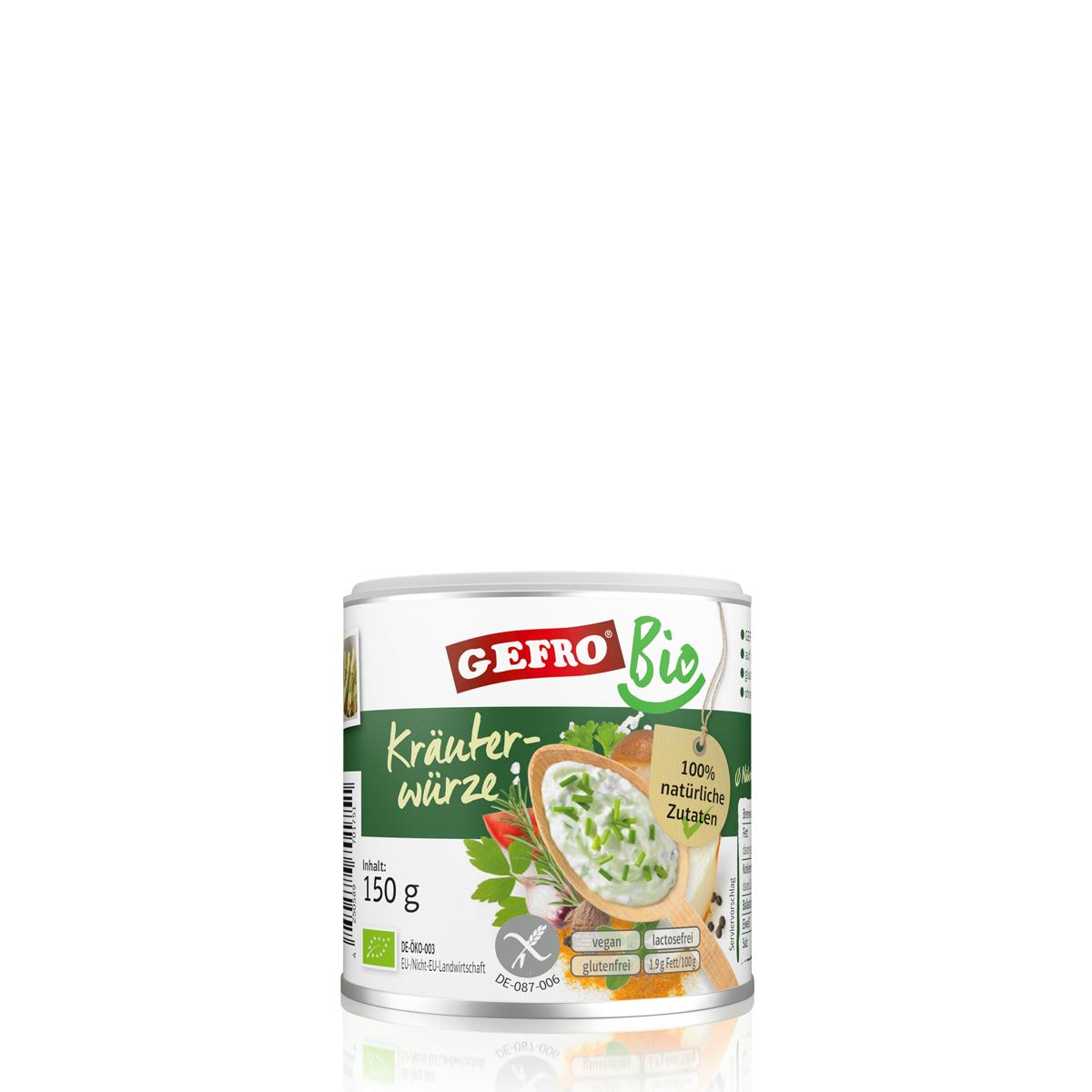 Kräutergewürz Leckere Bio Kräuterwürze Gefro